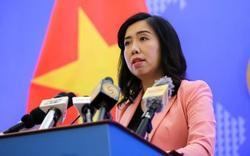 Việt Nam nêu quan điểm về thông điệp Biển Đông của phát ngôn viên Bộ Ngoại giao Trung Quốc