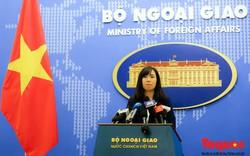 Bộ Ngoại giao lên tiếng về việc Trung Quốc áp dụng cấm đánh bắt cá ở Biển Đông