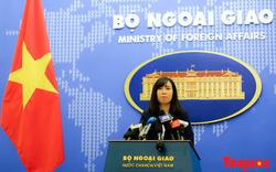 Việt Nam lên tiếng việc hai tàu Mỹ vào Trường Sa