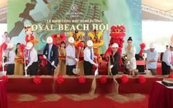 Khởi công khu nghỉ dưỡng Hội An Royal Beach Resort