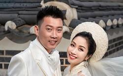 Ốc Thanh Vân khoe ảnh cưới chụp tại Hàn Quốc, vô tình để lộ hình xăm