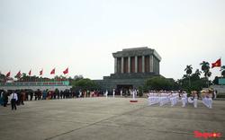 Bộ Quốc phòng thông tin về 50 năm giữ gìn, bảo vệ tuyệt đối thi hài Chủ tịch Hồ Chí Minh