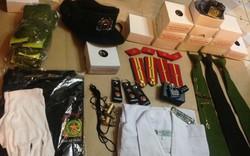 Bộ Công an lại nghiêm cấm cán bộ, chiến sĩ mua bán, trao đổi, cho, tặng quân trang