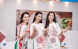 Ngọc Hân hội ngộ 'bạn gái tin đồn' Phan Văn Đức và bạn thân Phí Thuỳ Linh