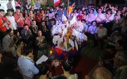Lưu học sinh Lào vui đón Tết cổ truyền Bunpimay trên đất Huế