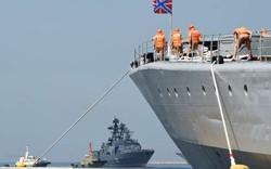 Cận cảnh loạt tàu chiến Nga tại cảng Philippines
