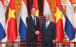 Thủ tướng Nguyễn Xuân Phúc chủ trì lễ đón chính thức Thủ tướng Vương quốc Hà Lan