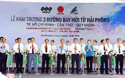 Thủ tướng Nguyễn Xuân Phúc dự lễ khai trương 3 đường bay mới từ Hải Phòng của Bamboo Airways