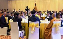 Chủ tịch Quốc hội chủ trì Tiệc chiêu đãi các đại biểu tham dự Đại lễ Vesak
