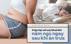 Ngoài việc khiến bạn tăng lượng mỡ thừa, nằm ngủ ngay sau khi ăn trưa còn có những tác hại này