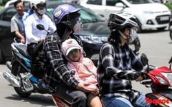 Hà Nội nắng nóng 41 độ C: Dân Thủ đô uể oải ra đường