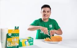 Cầu thủ Quang Hải tiên phong kêu gọi loại bỏ rác thải nhựa