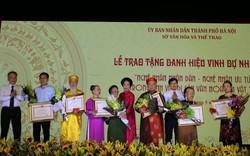 44 cá nhân được trao tặng và truy tặng danh hiệu Nghệ nhân nhân dân, Nghệ nhân ưu tú