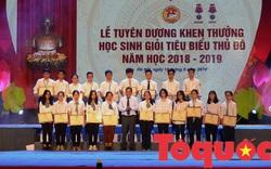 Hơn 1.000 học sinh giỏi tiêu biểu của Thủ đô được tuyên dương khen thưởng
