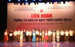 02 Huy chương Vàng được trao trong Bế mạc Liên hoan Tuồng và Dân ca kịch toàn quốc 2019