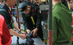 Thắt chặt an ninh trước giờ CĐV Hải Phòng đổ bộ, Hàng Đẫy tái hiện AFF Cup 2018
