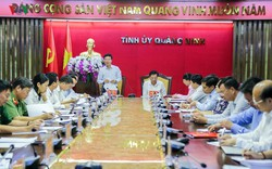 Bộ Chính trị thông báo kiểm tra 10 tổ chức Đảng tại tỉnh Quảng Ninh