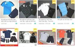 Phát hiện gần 1.200 sản phẩm quần áo nghi giả nhãn hiệu Nike, Adidas