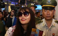 Đoàn Thị Hương về đến Việt Nam sau khi được trả tự do