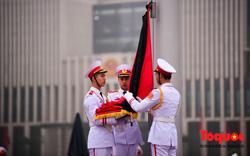 Lễ treo cờ rủ trong ngày Quốc tang nguyên Chủ tịch nước, Đại tướng Lê Đức Anh