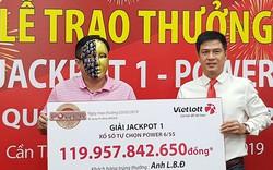 Một chủ doanh nghiệp thủy sản trúng giải Jackpot của Vietlott gần 120 tỷ đồng
