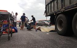 Nghệ An: Mẹ cùng con 8 tuổi chết thảm dưới bánh xe tải