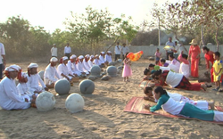 Lễ hội Ramưwan của người Chăm theo đạo Hồi giáo ở Ninh Thuận