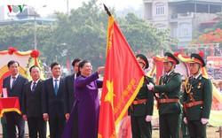 Hình ảnh mít tinh, diễu hành kỷ niệm 65 năm chiến thắng Điện Biên Phủ