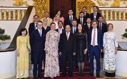 Thủ tướng Nguyễn Xuân Phúc tiếp Công chúa kế vị Thụy Điển Victoria Ingrid Alice Desiree