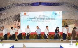 Thủ tướng dự lễ khởi công dự án nông nghiệp công nghệ cao ở Thanh Hóa