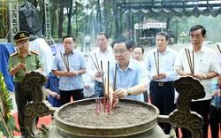 Đoàn kiểm tra của Bộ Chính trị làm việc với tỉnh Quảng Trị