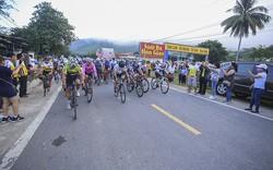 Sôi nổi Giải đua xe đạp tỉnh Khánh Hòa mở rộng leo đèo Hòn Giao