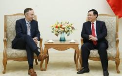 Phó Thủ tướng Vương Đình Huệ tiếp Phó Chủ tịch Nike
