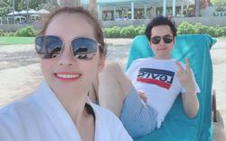Nhạc sĩ Dương Khắc Linh đưa vợ mới cưới nghỉ dưỡng ở Premier Village Danang Resort Managed by AccorHotels