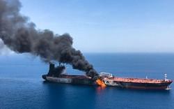Vụ cháy hai tàu dầu đang