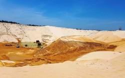 Quảng Bình xảy ra sụt trượt cát ở mỏ khai thác ti tan làm một người mất tích