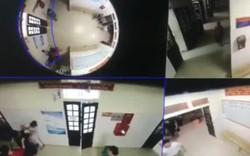 Video: Côn đồ tát, bóp cổ nhân viên y tế ở Nghệ An