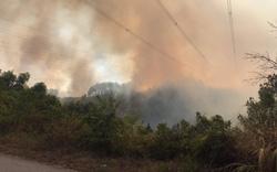 Đường dây 500kV đoạn Đà Nẵng – Hà Tĩnh bị sự cố do cháy rừng