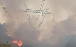 Đường dây 500kV bị sự cố do cháy rừng: Đã đóng điện trở lại