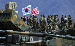 Giữa lạnh nhạt Mỹ-Triều, bất ngờ tuyên bố của Lầu Năm góc về tập trận chung với Hàn Quốc