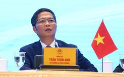 Bộ trưởng Trần Tuấn Anh: Ký kết EVFTA, xuất khẩu và GDP của Việt Nam sẽ tăng trưởng mạnh mẽ