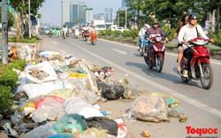 Hà Nội: Sau 2 năm khánh thành, rác vây phố Trịnh Văn Bô,