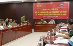 Đà Nẵng: Tổ chức diễn tập phương án PCCC và CNCH quy mô lớn tại Tổ hợp Khách sạn Vinpearl Condotel Riverfront.