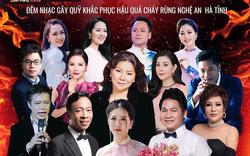 Các nghệ sĩ chung tay làm đêm nhạc từ thiện hướng về Nghệ An, Hà Tĩnh