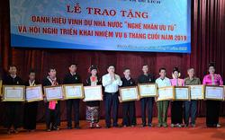 20 cá nhân tỉnh Điện Biên được trao tặng danh hiệu