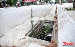 Hà Nội: Ống cống thoát nước mất nắp hàng loạt, nằm