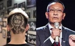 MC Lại Văn Sâm được fan khắc hình sau đầu và phản ứng của con trai mới là điều chú ý