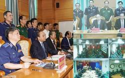 Thủ tướng thăm hỏi các tàu cảnh sát biển đang làm nhiệm vụ trên biển
