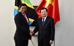 Việt Nam, Tanzania tăng cường hợp tác trên nhiều lĩnh vực