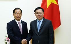 Phó Thủ tướng Vương Đình Huệ tiếp Chủ tịch Tập đoàn nhà nước về phát triển nông thôn lớn nhất Hàn Quốc- KRC